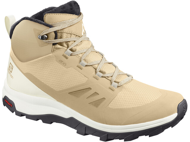 Salomon Outsnap CSWP Schuhe Damen taos taupe/vanilla ice/phantom